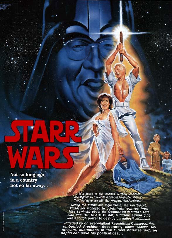 Starr Wars Poster